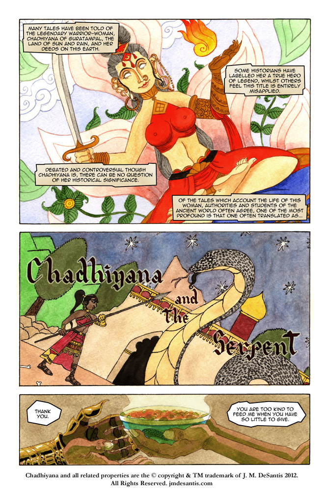 Chadhiyana and the Serpent pg1