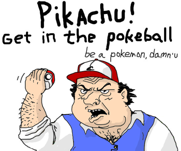 Be a Pokemon