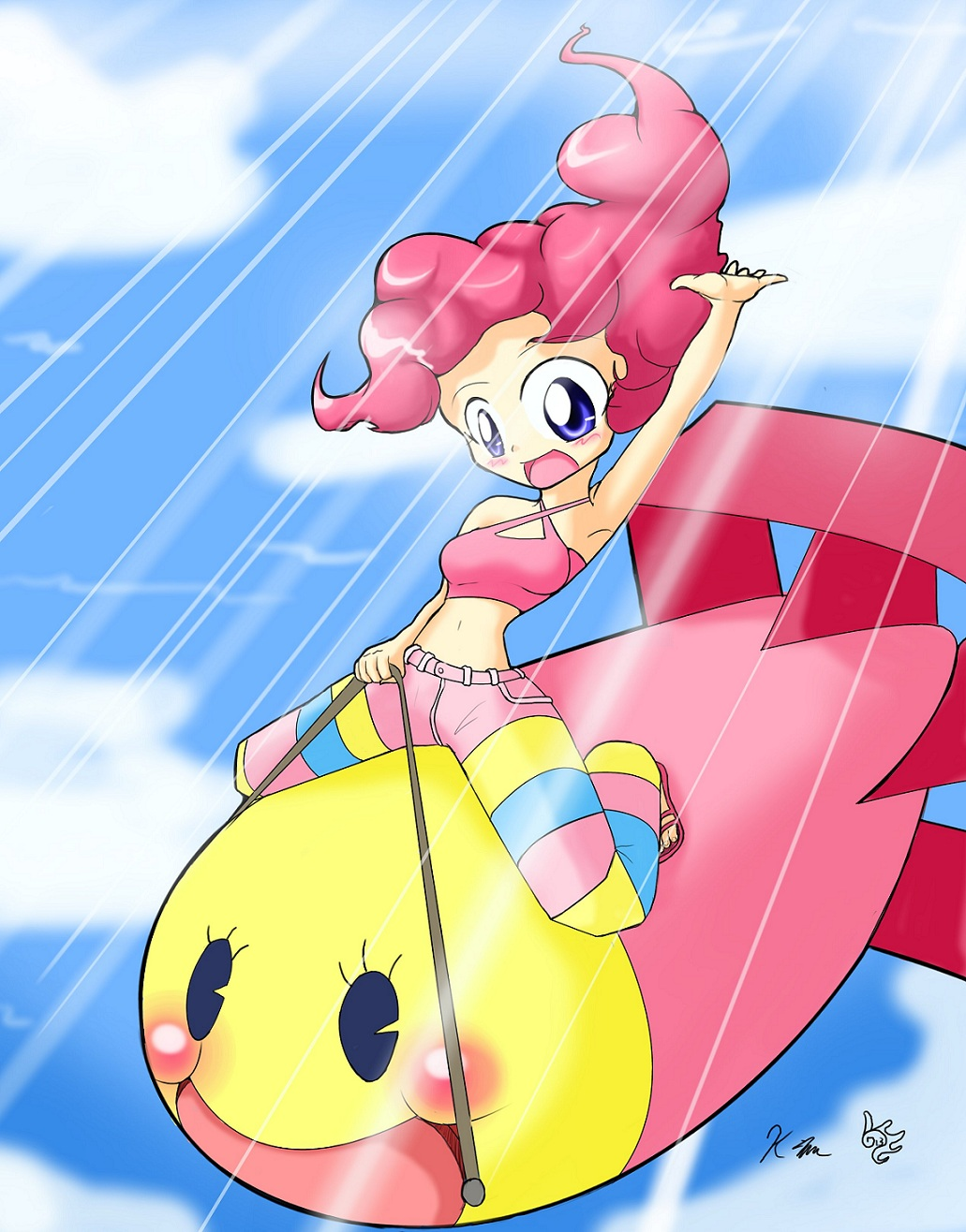 Pinke the Harbinger of Happine