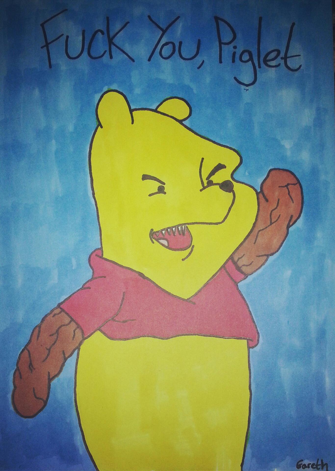 Winnie The Shit