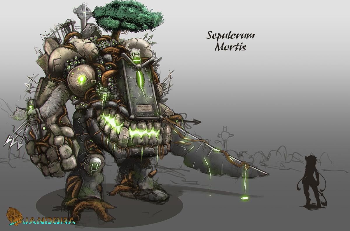 Djandora - Sepulcrum Mortis