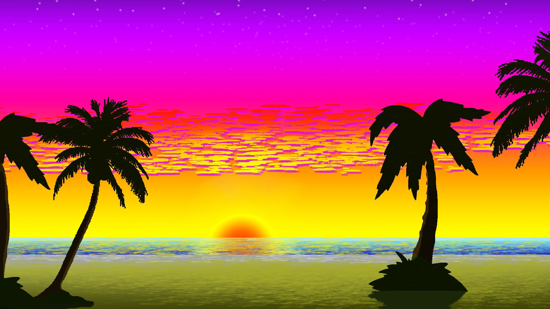 Shoreside Sunset