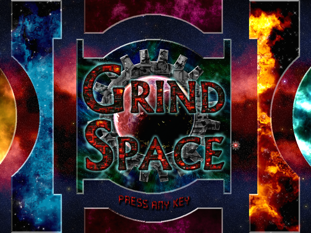 Title Screen for Grindspace