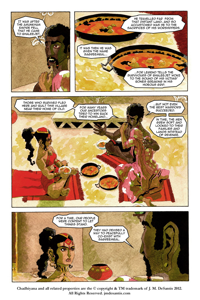 Chadhiyana and the Serpent pg3