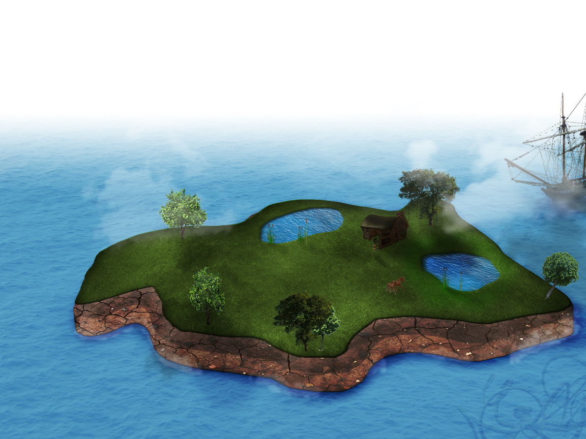 island of 3D