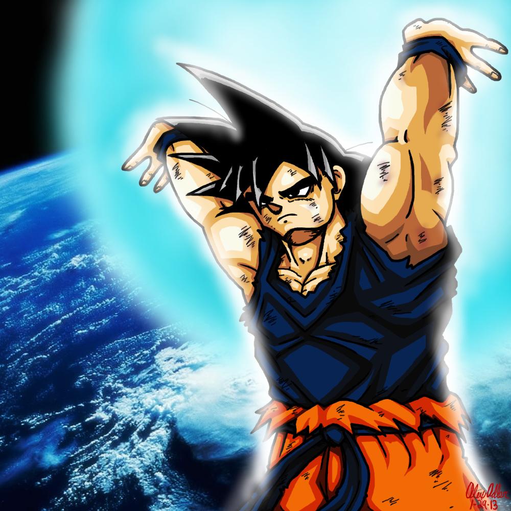 Goku - Spirit Bomb