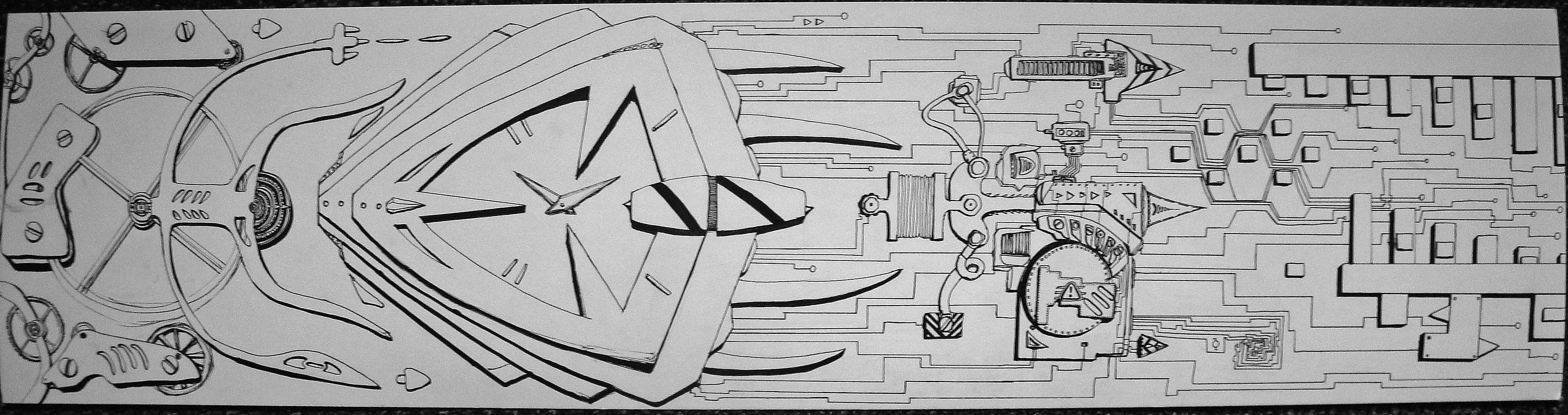 Clockwork Abstract
