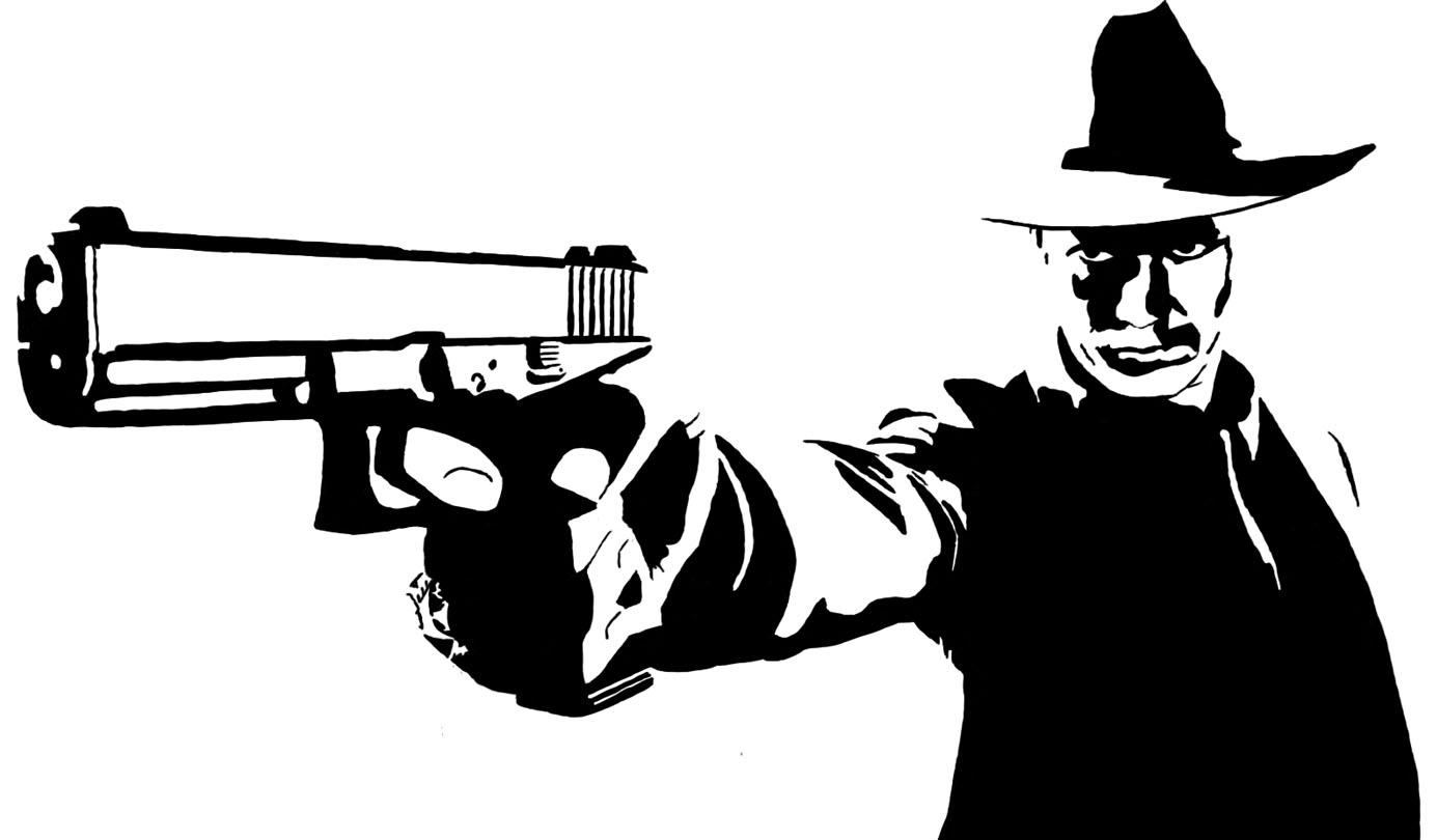 I only shoot to kill