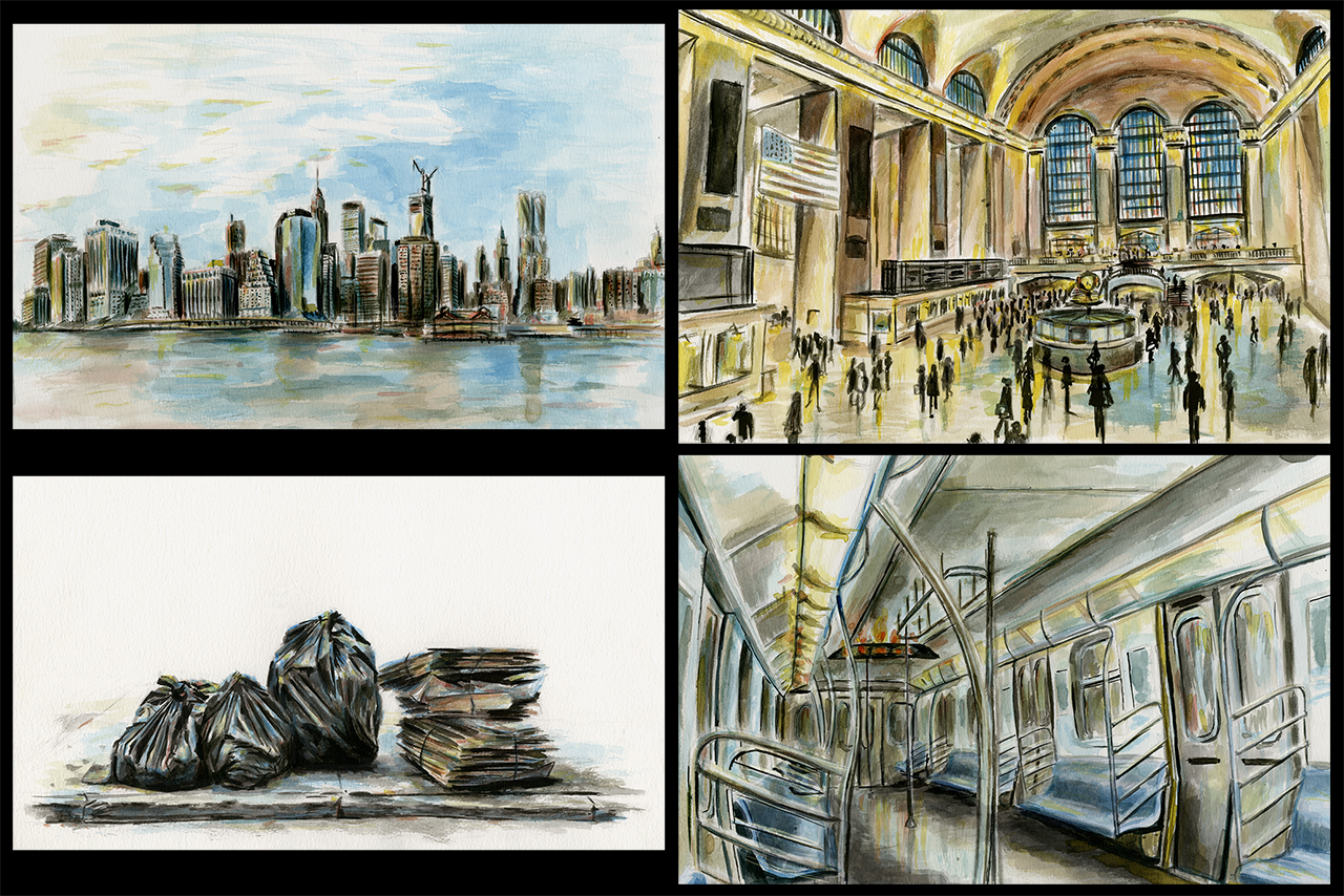NYC Observation Paintings