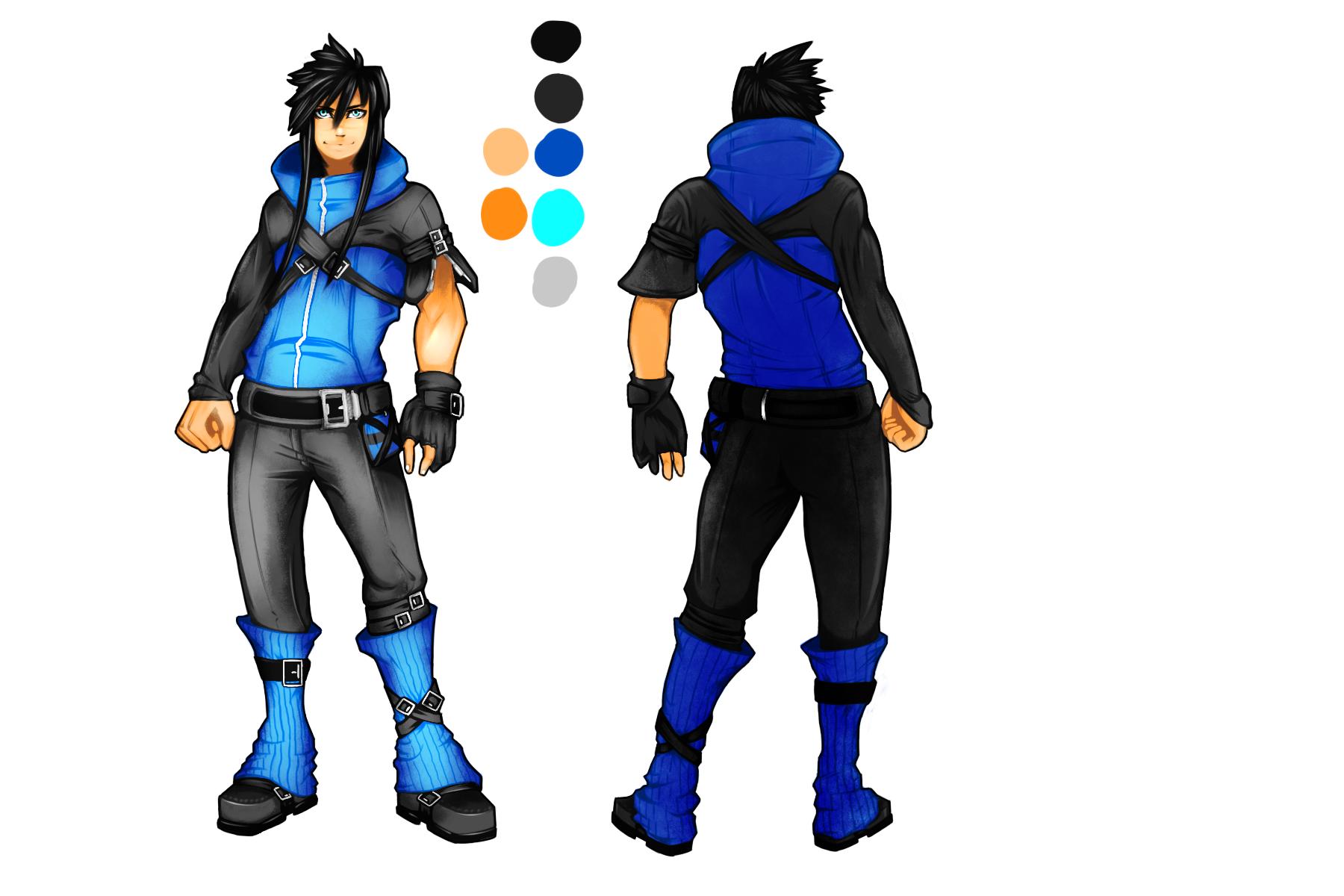 Character Design - Seki