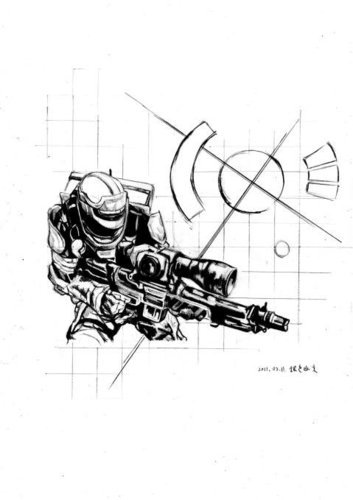 Comic Soldier