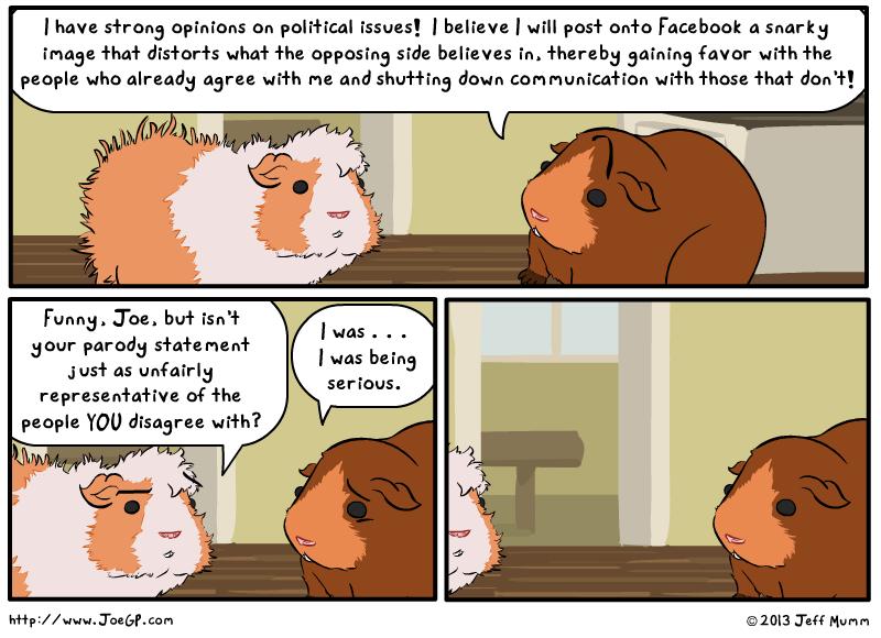 Political Presence