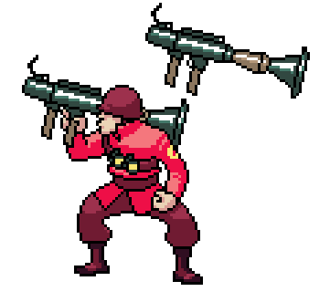 TF2 Sprites: Soldier