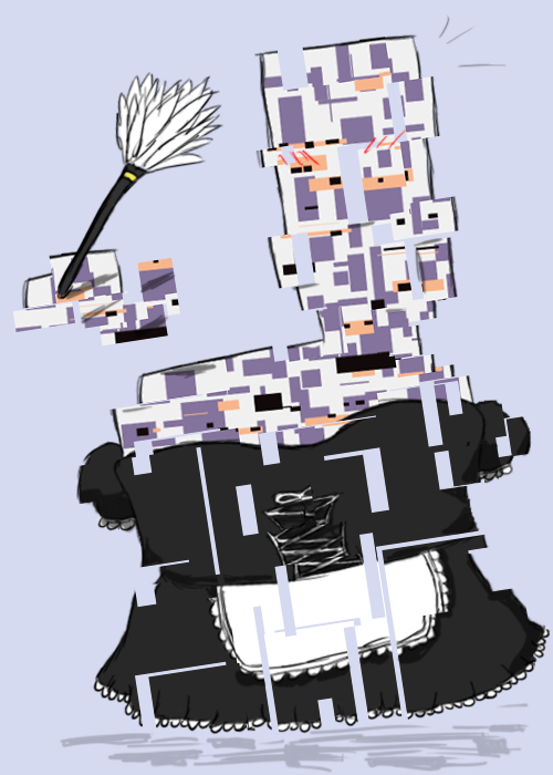The Lusty Missingno Maid