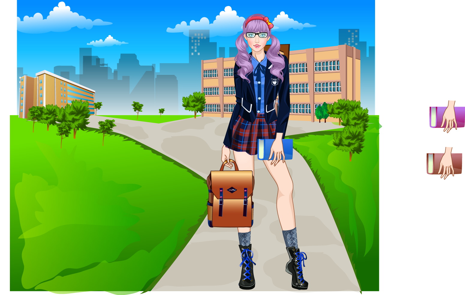 Snapshot of my dress up games