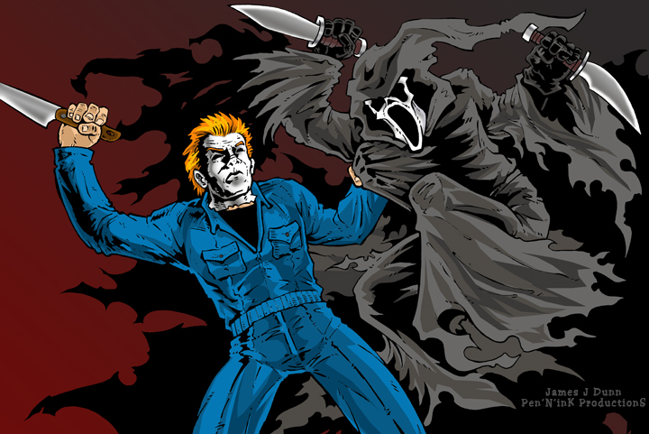 Michael Myers vs. Ghostface