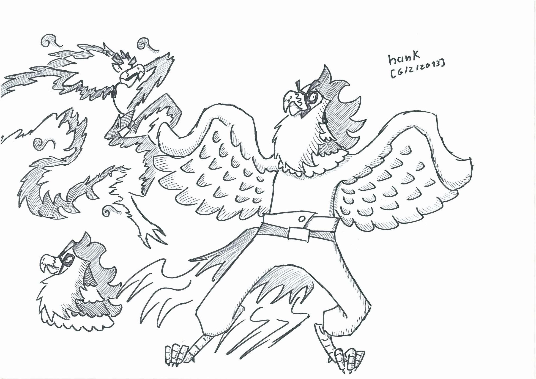 OC - Taiyou The Phoenix