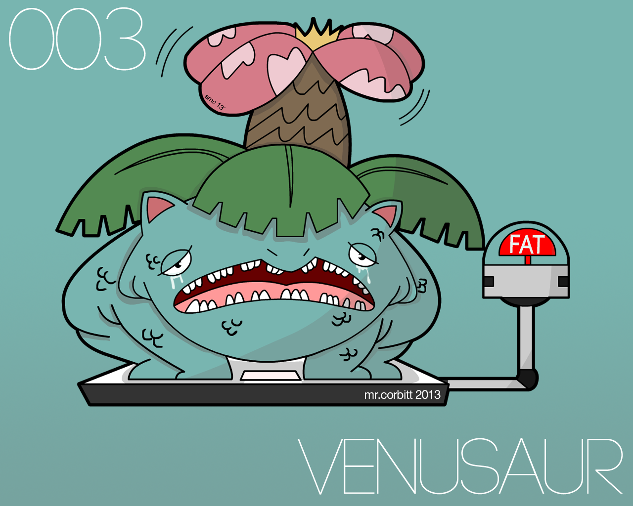 Venusaur is Overweight