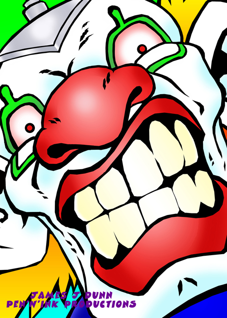 Angry the Clown