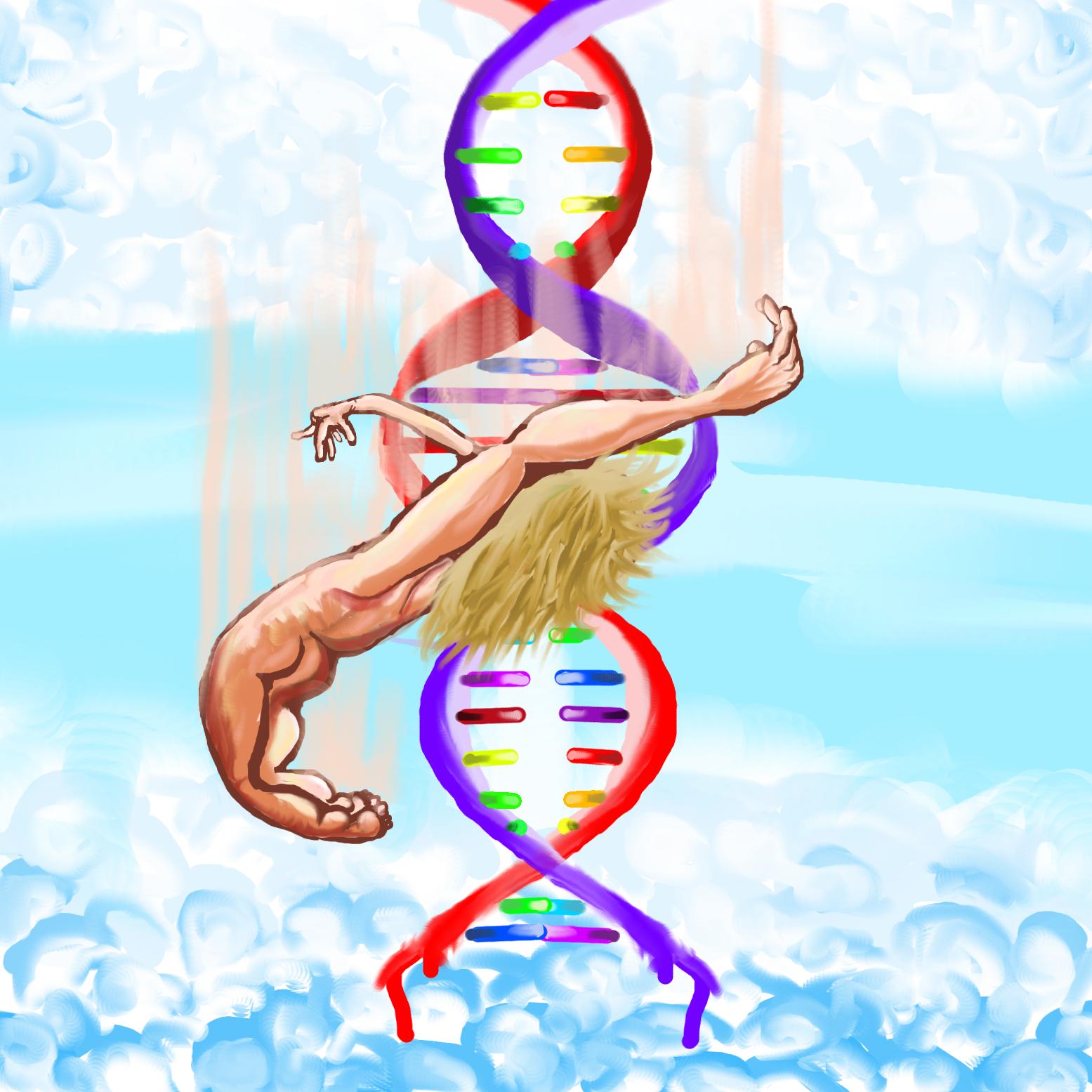 Falling DNA bro