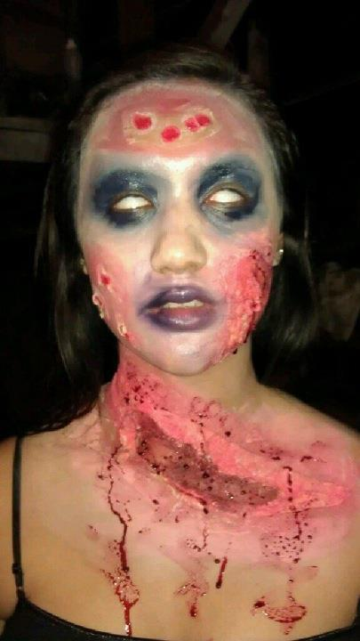 Make-Up Artistry - Zombie2