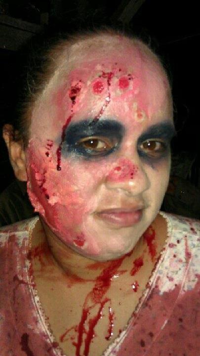 Make-Up Artistry - Zombie4