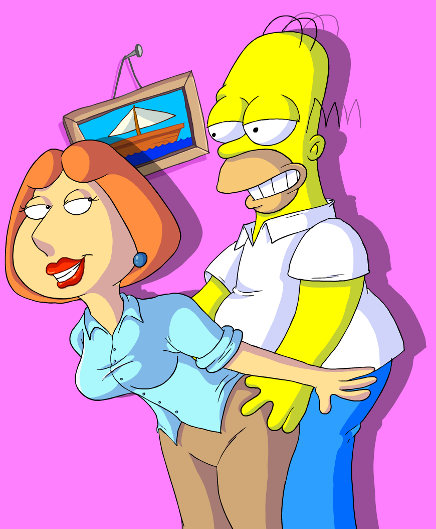 Lois and Homer