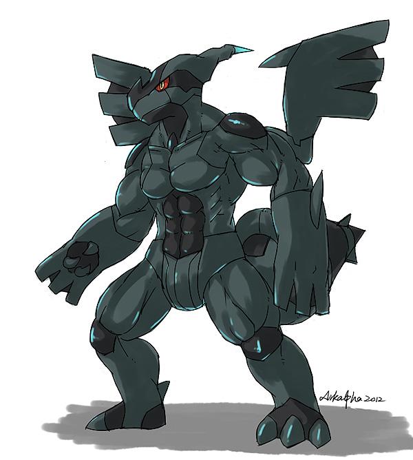 Muscle Zekrom!