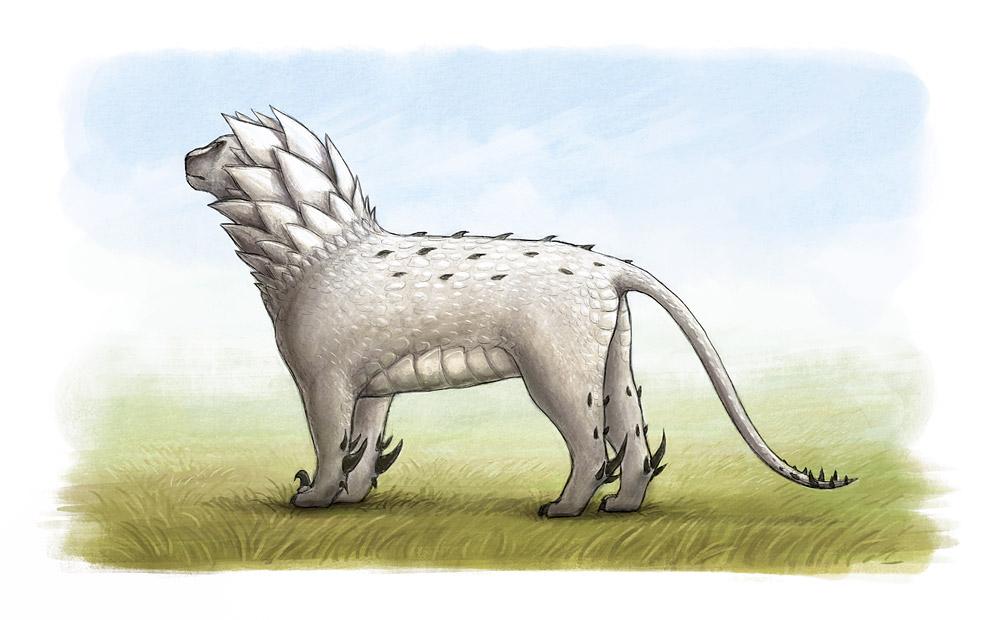 Ivory Thorn-lion