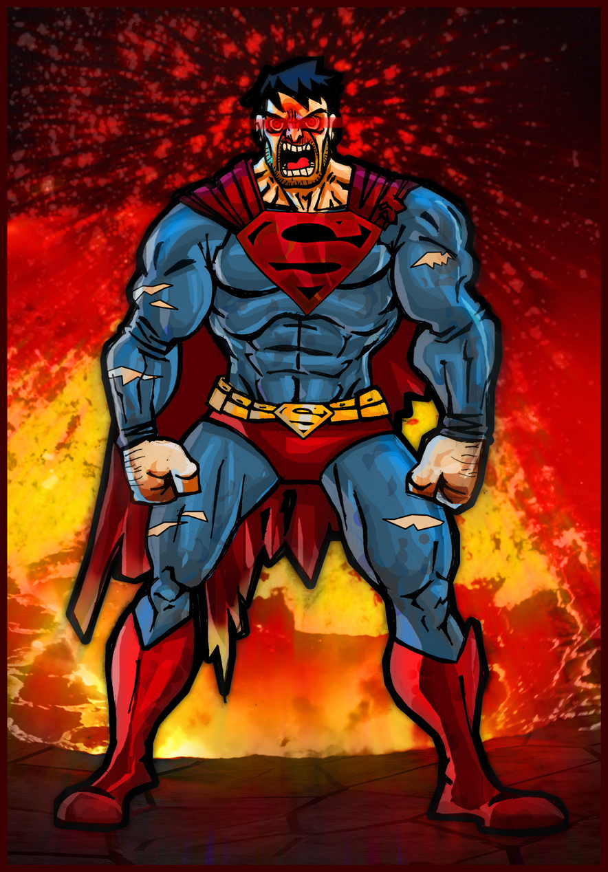 One Angry Superman