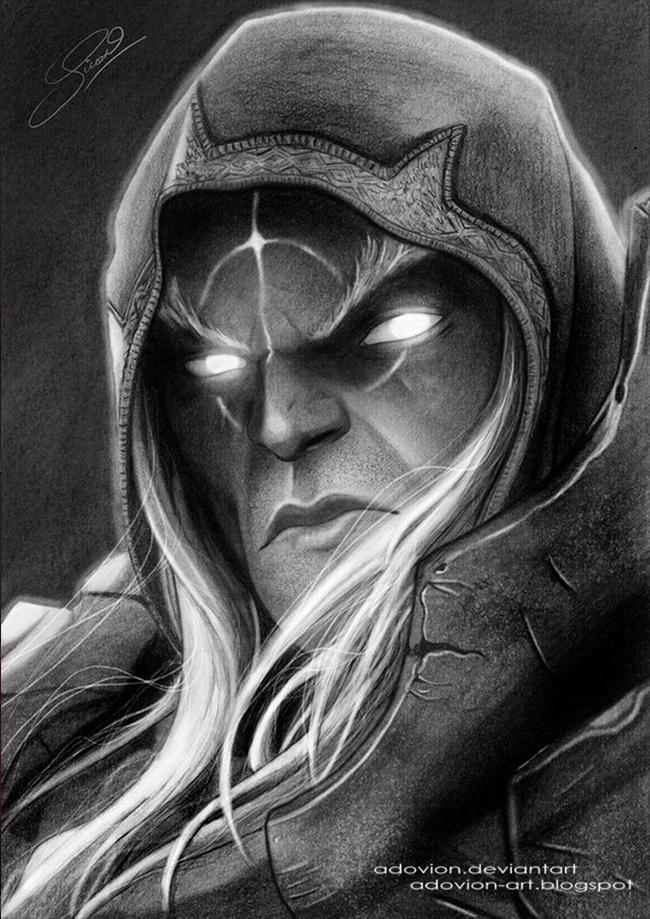 War - Darksiders Pencil Drawin