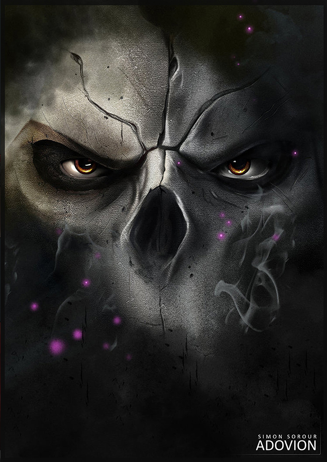 Darksiders 2 Digital Painting