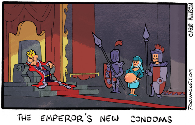 The Emperor's New Condoms.