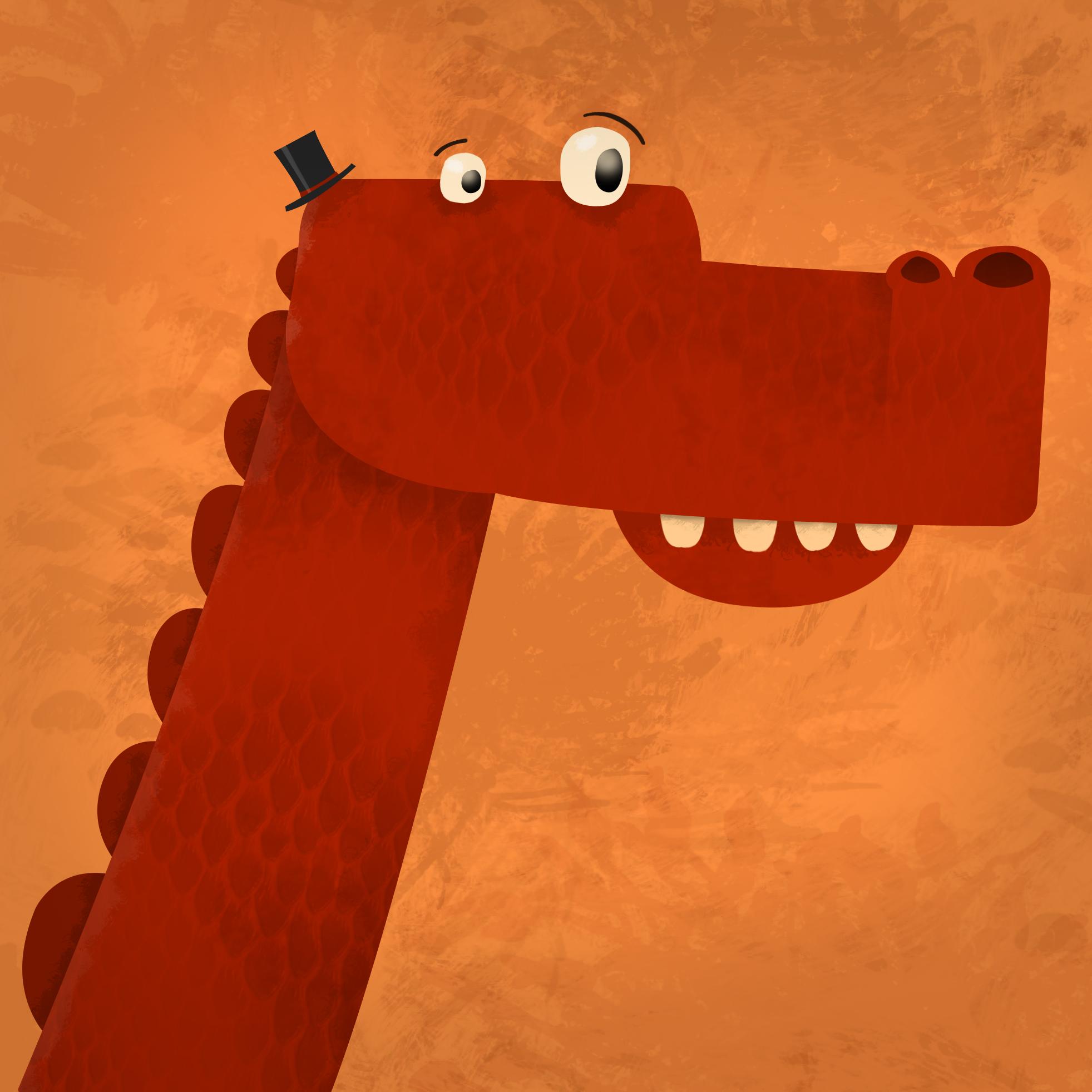 Gentleman Dinosaur