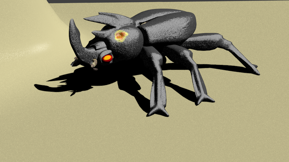 Mammoth beetle