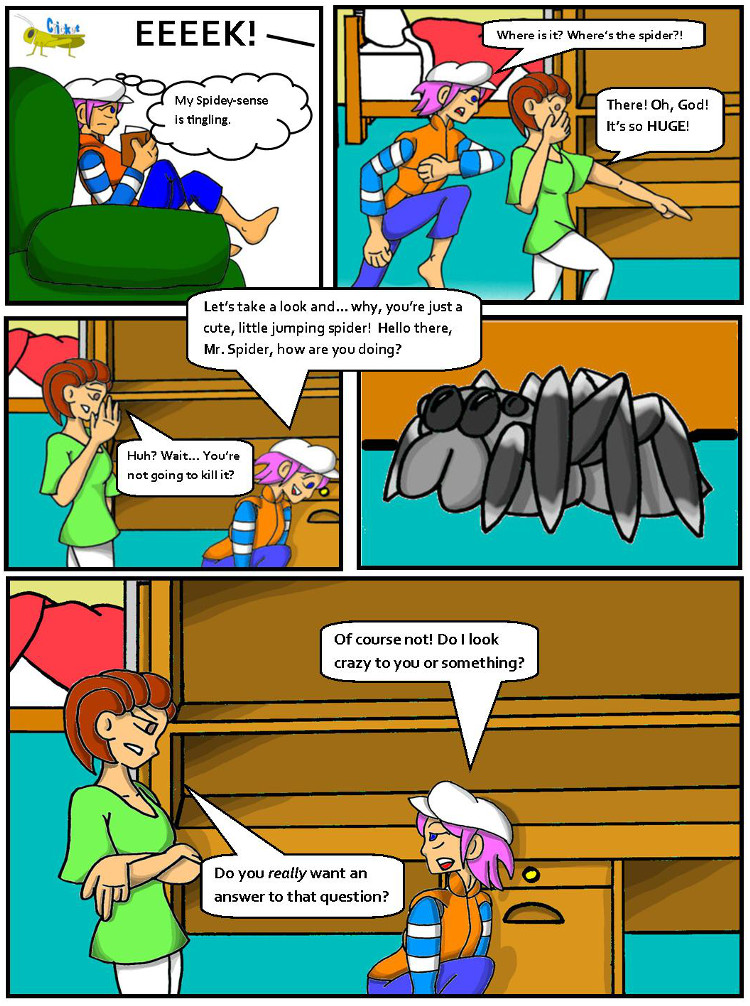 Cricket! #9- Arachnophobia