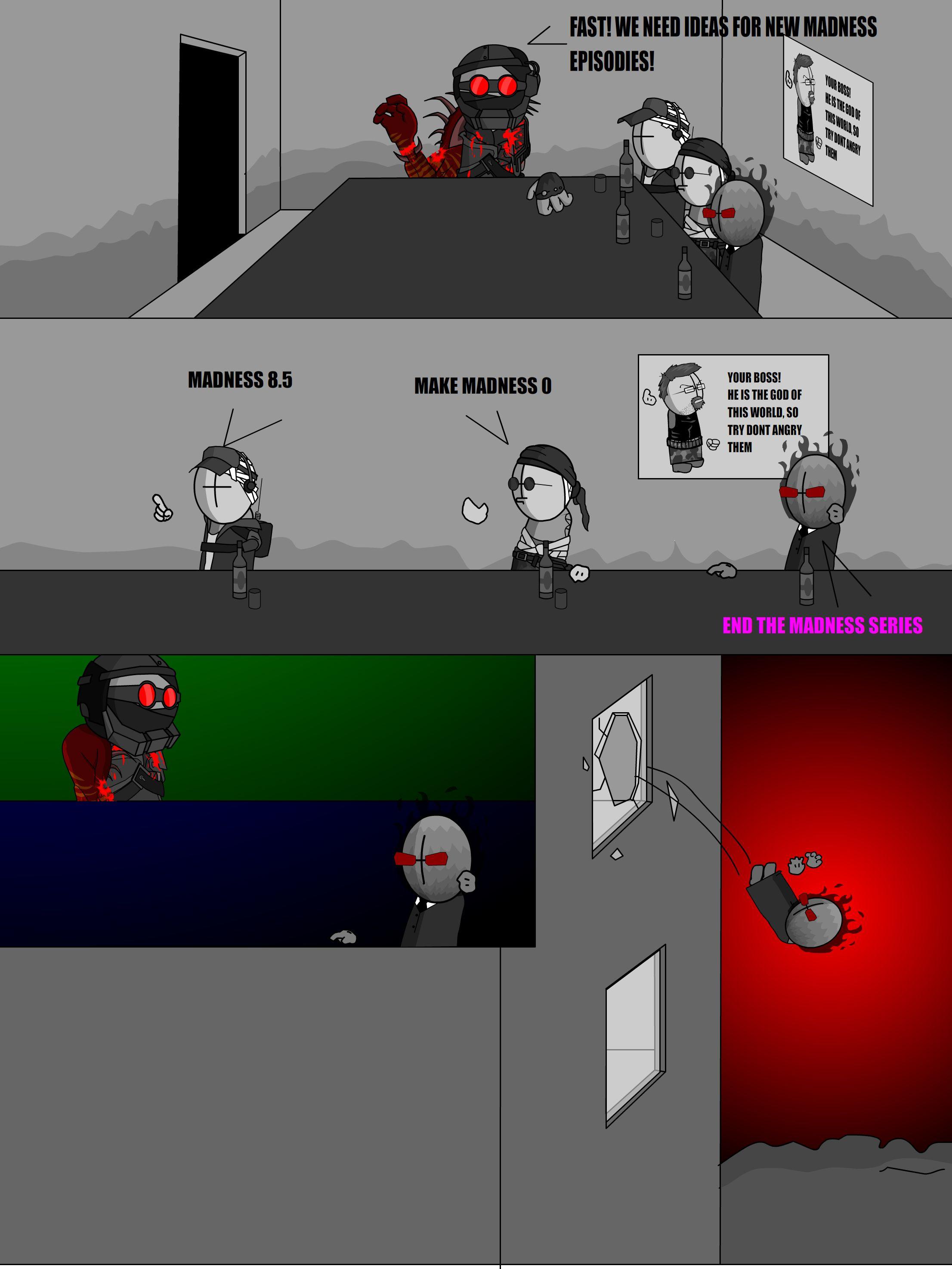 madness comix #6