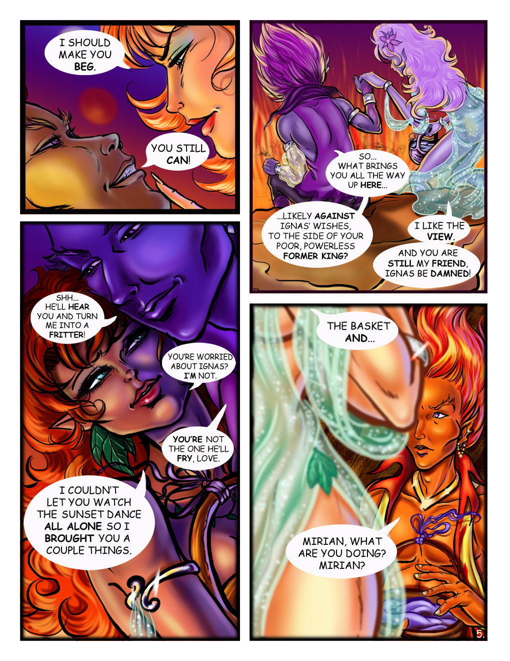 Dante's Fire- Page 5