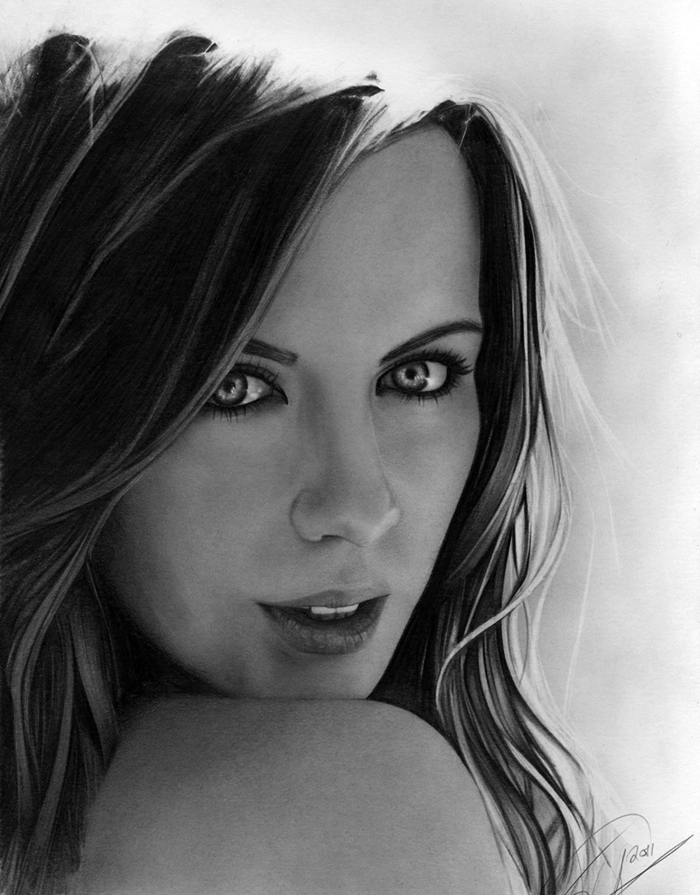 Kate Beckinsale portrait