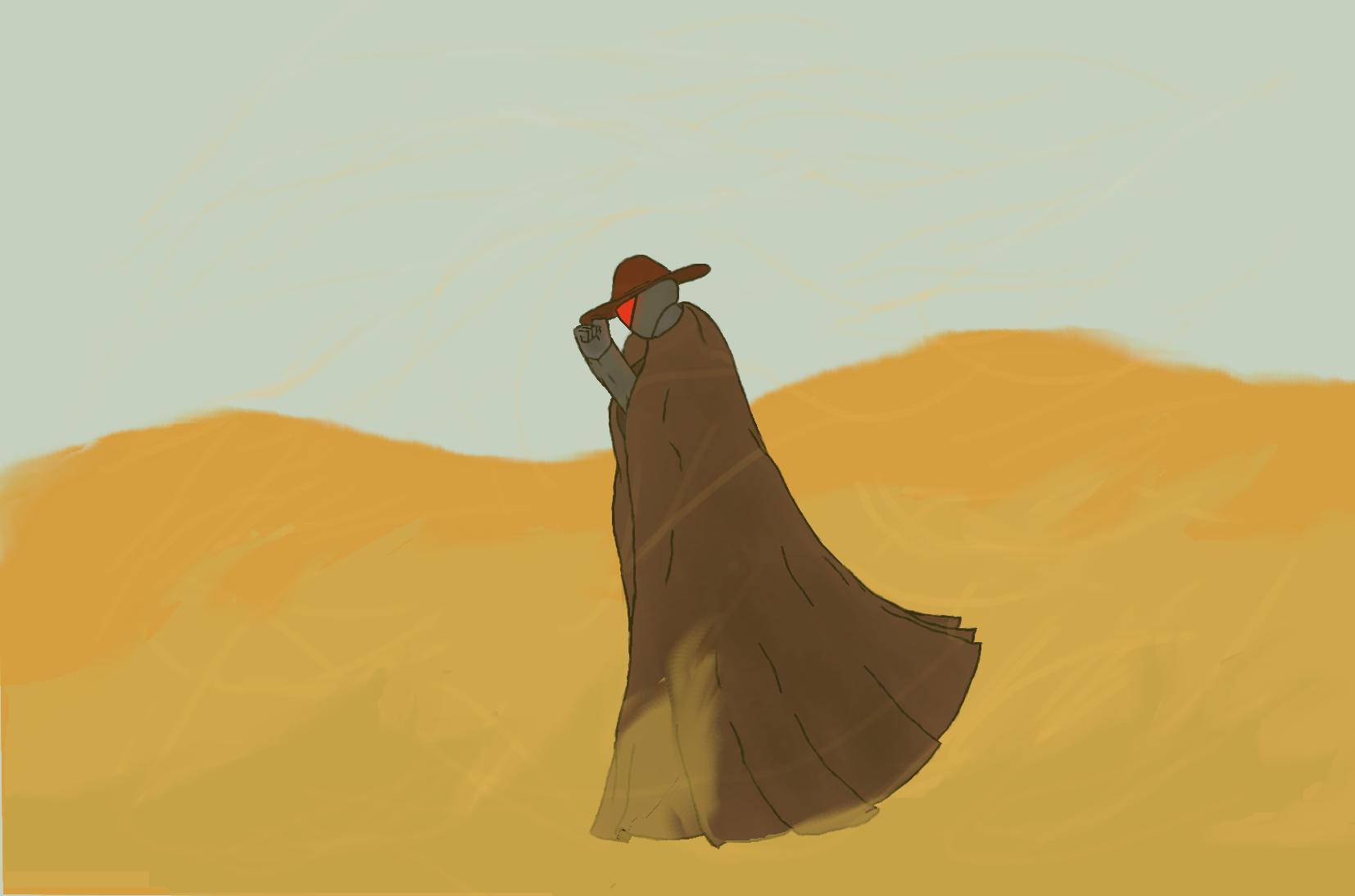 ameuha, sandstorm