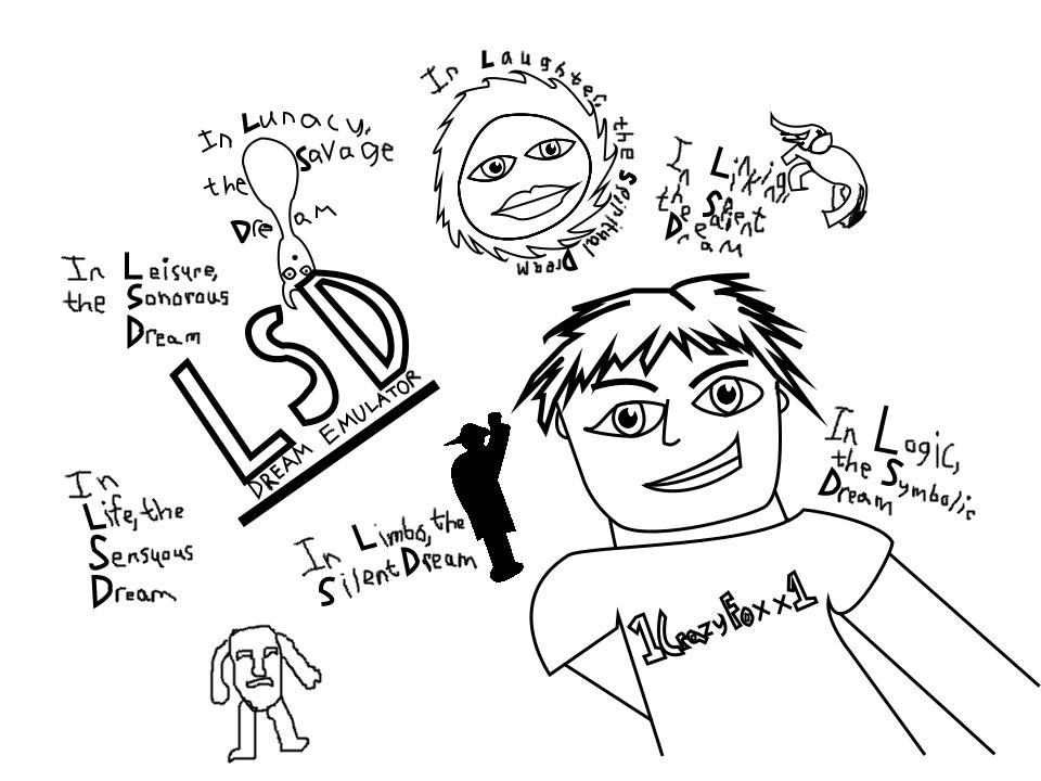 Being the Dreamer in LSD Dream