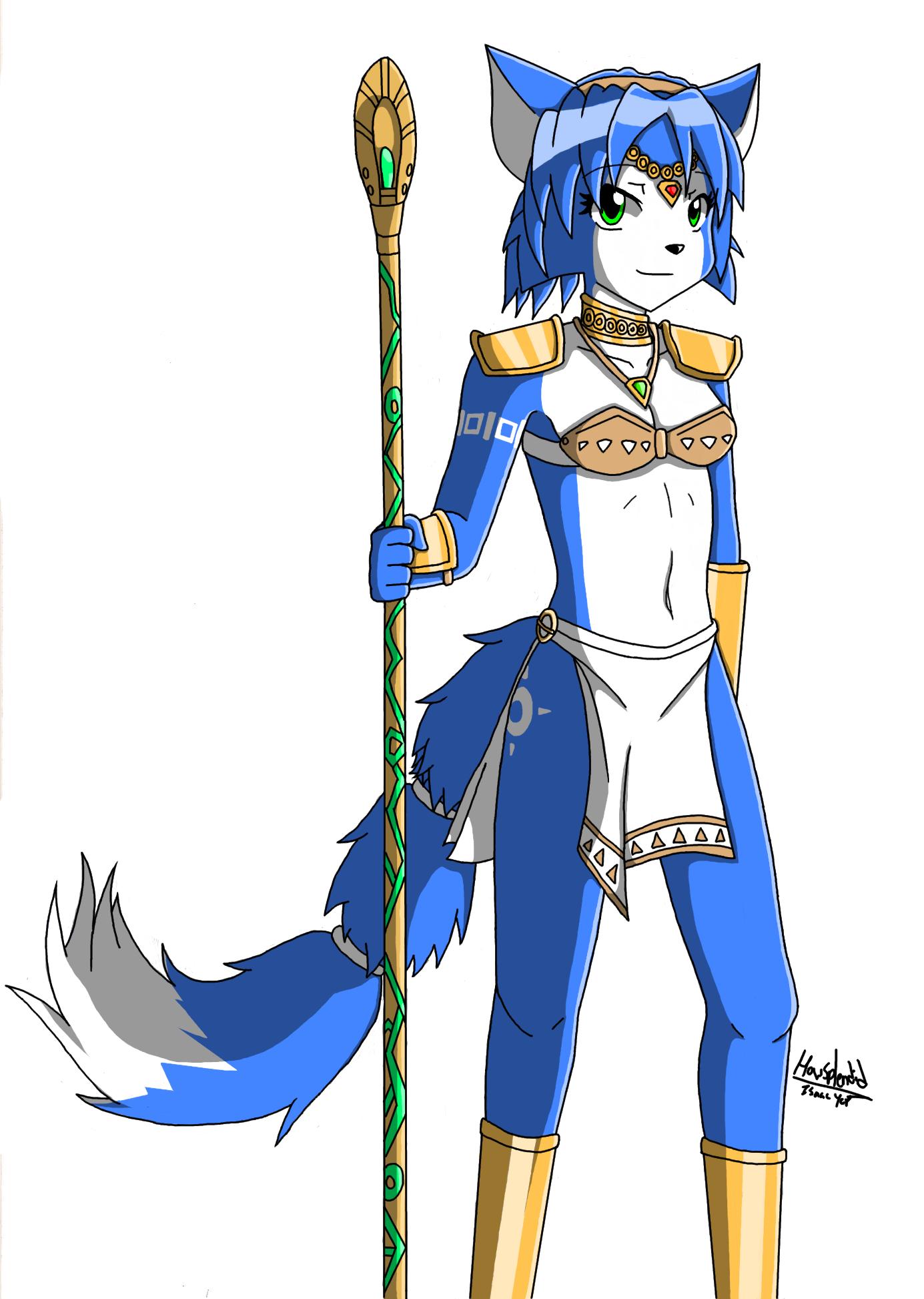Krystal the Fox