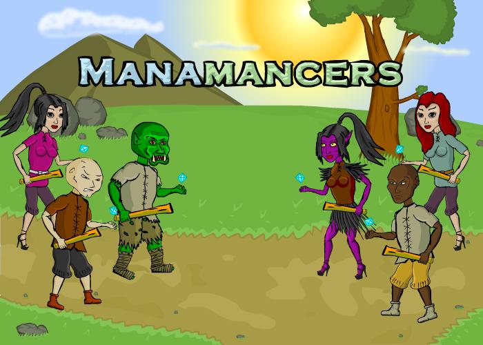 Manamancers main screen