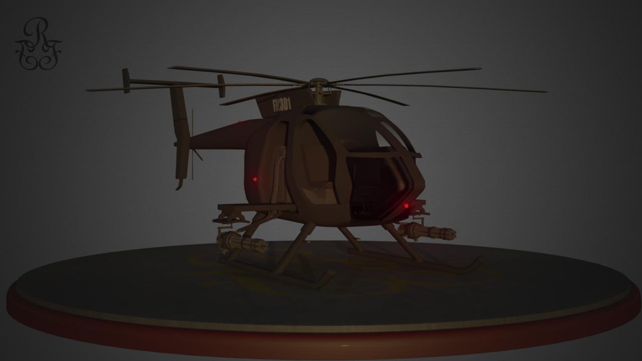 AH-6 Little Bird (Night)