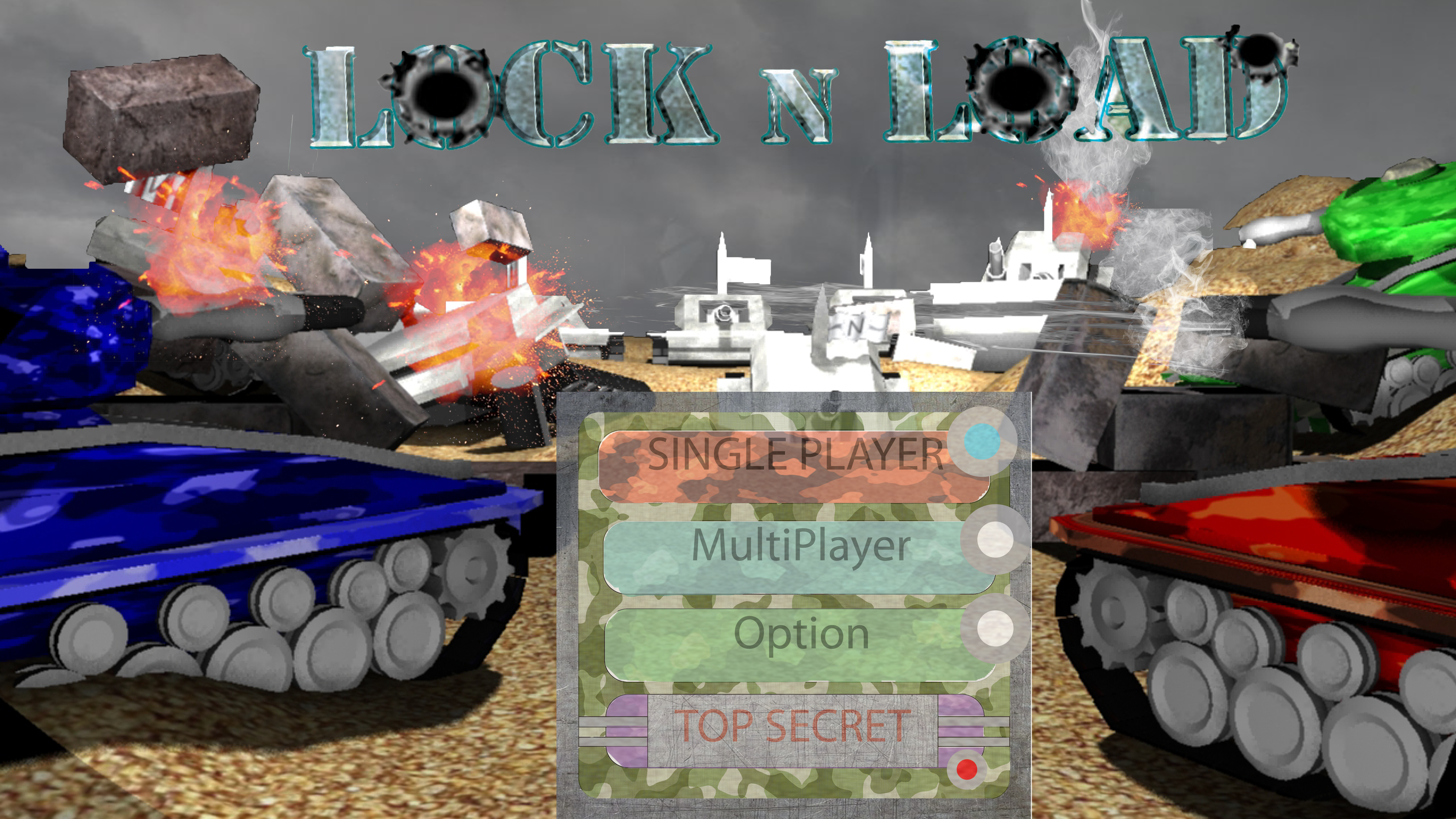 Lock N Load Title screen