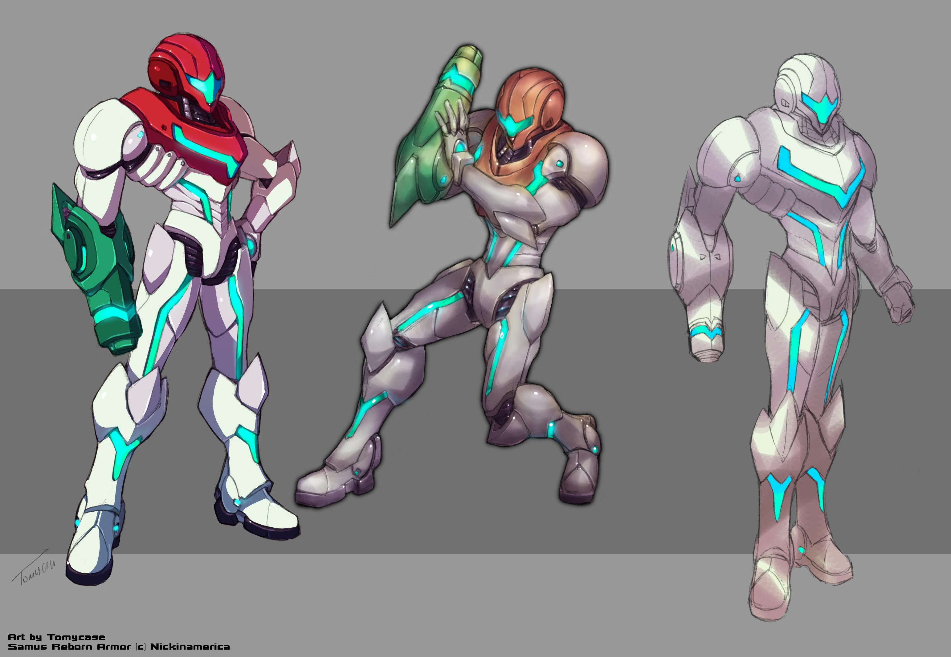 Samus Reborn Armor