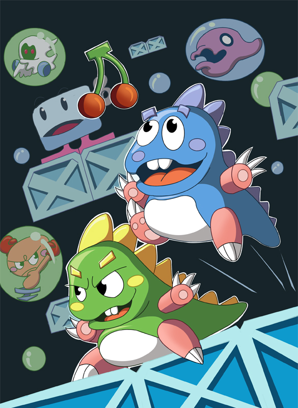 Bubble Bobble old school
