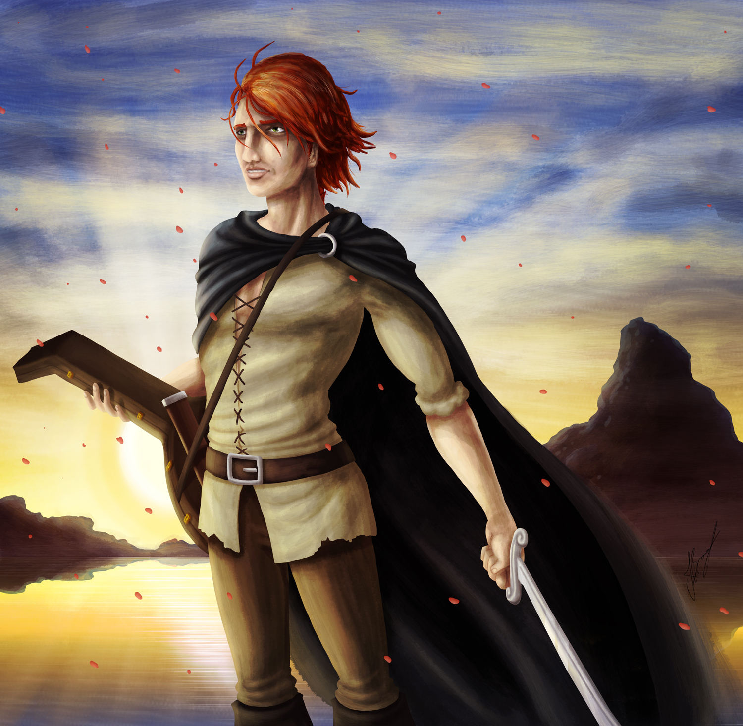 Kvothe, the bloodless