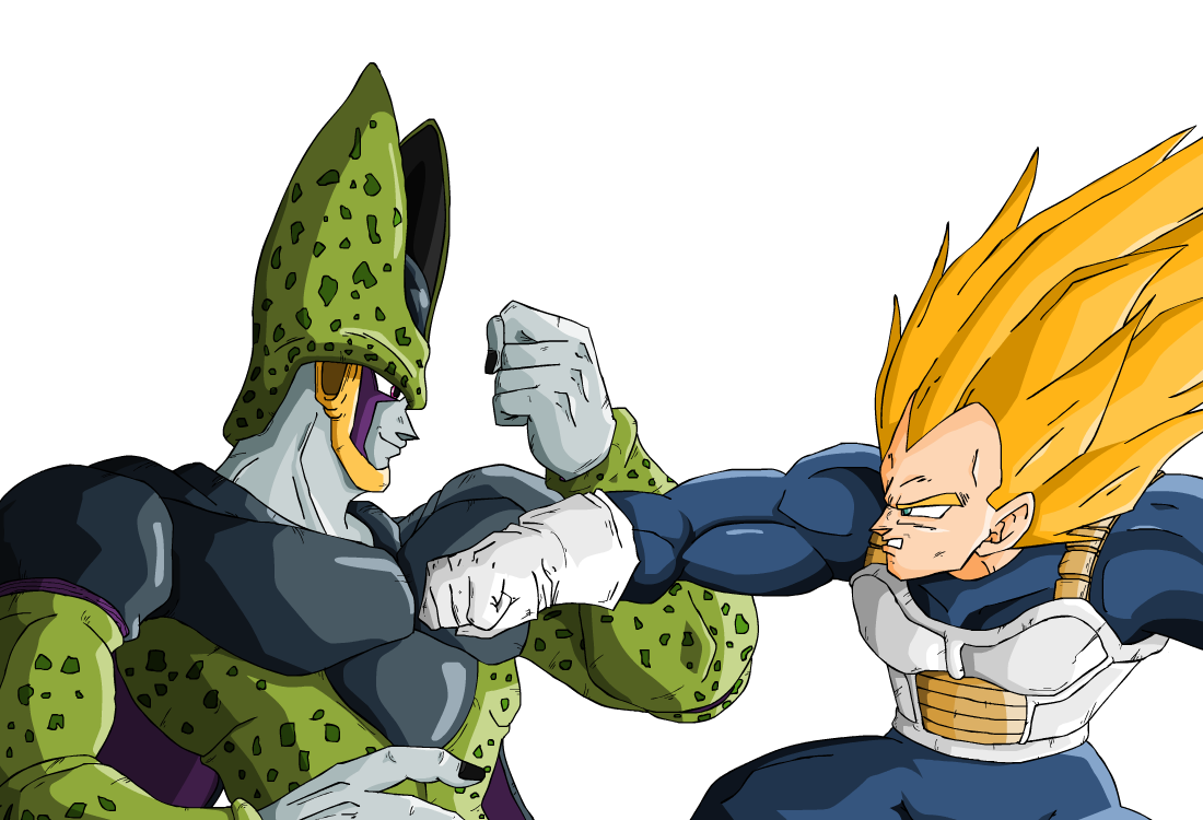 Cell vs Vegeta