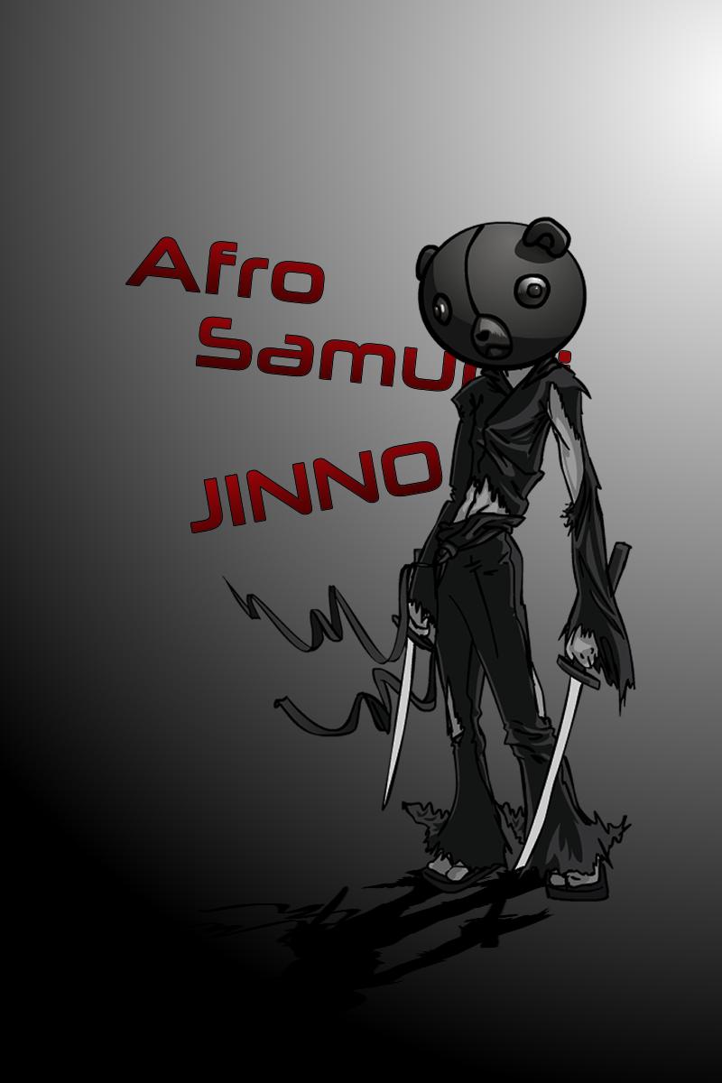 Jinno from Afro Samurai
